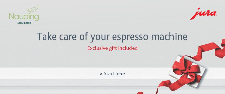 Take care of your espresso machine_Saku Läte